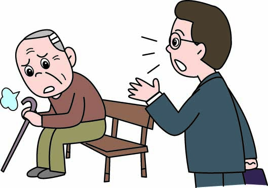 遠い老人ホームに入所させようとする兄の親に対する介護の仕方が気に入らない弟
