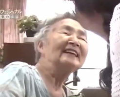 笑顔になった認知症の親