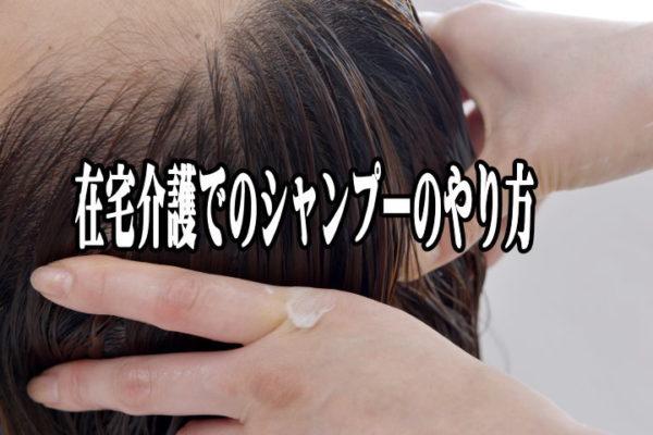 裏技あり【寝たまま座ったまま】在宅ベッドで行う介護洗髪シャンプー