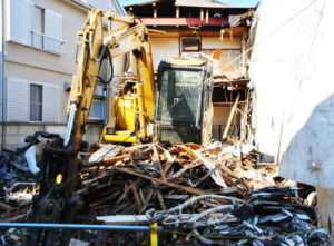 実家の解体取壊し工事