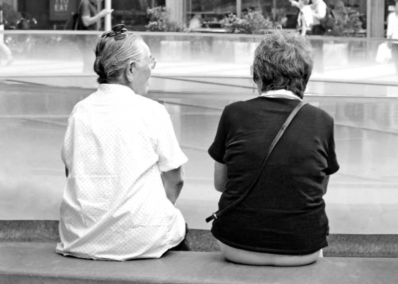 漠然とした老後に対する不安