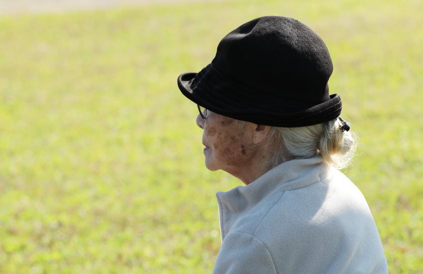 おひとりさまの高齢者