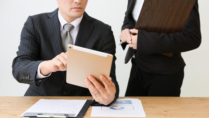 相続税申告をする税理士
