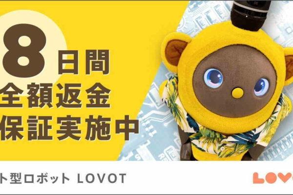 離れた親の見守りにも使えるラボット(LOVOT)ペット型ロボット